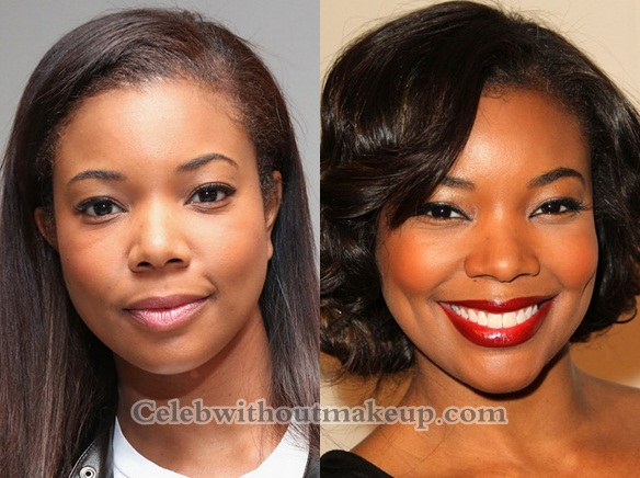 Gabrielle Union Without Makeup