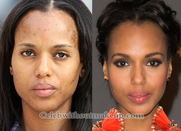 Kerry Washington No Makeup