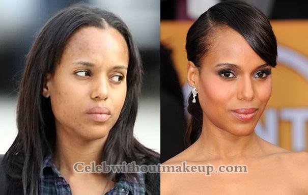 Kerry Washington No Makeup