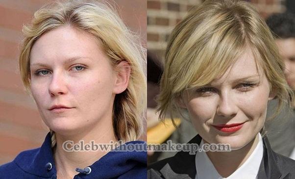 Kirsten Dunst Without Makeup