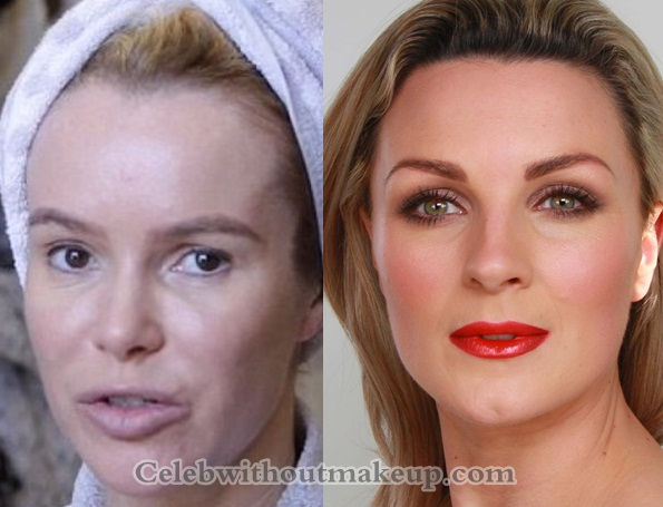 Amanda Holden No Makeup