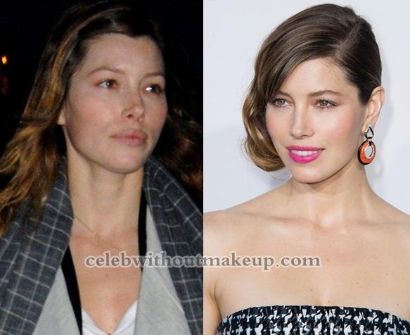Jessica Biel No Makeup