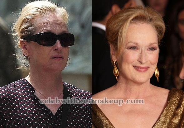 Meryl Streep No Makeup