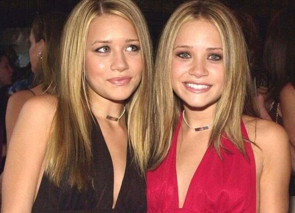 Olsen Twins No Makeup Face