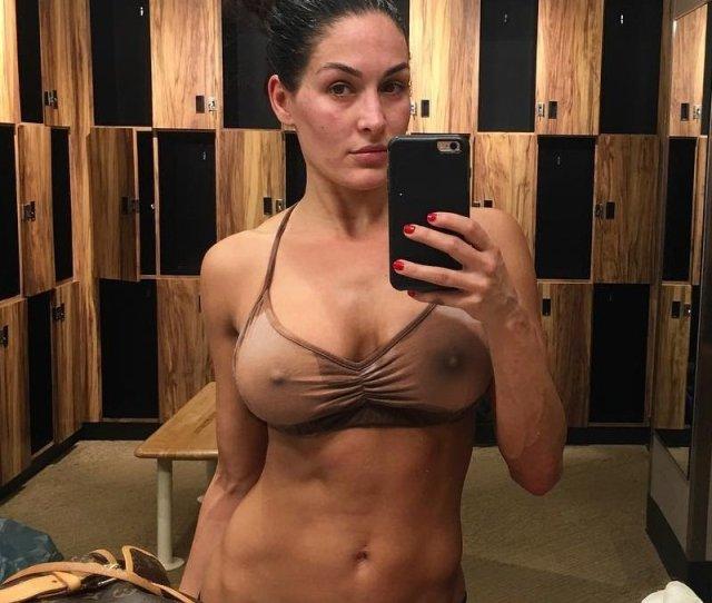 Nikki Bella Wwe Diva Celebrity Leaked Nude Pictures Hacked