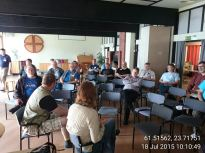 Meeting of the active members of the sections of Ursa