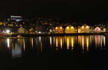 Waterfront in Tromso, Norway