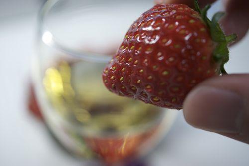 ワインとフルーツ