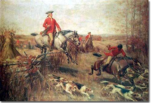Fox Hunting in #Regency England