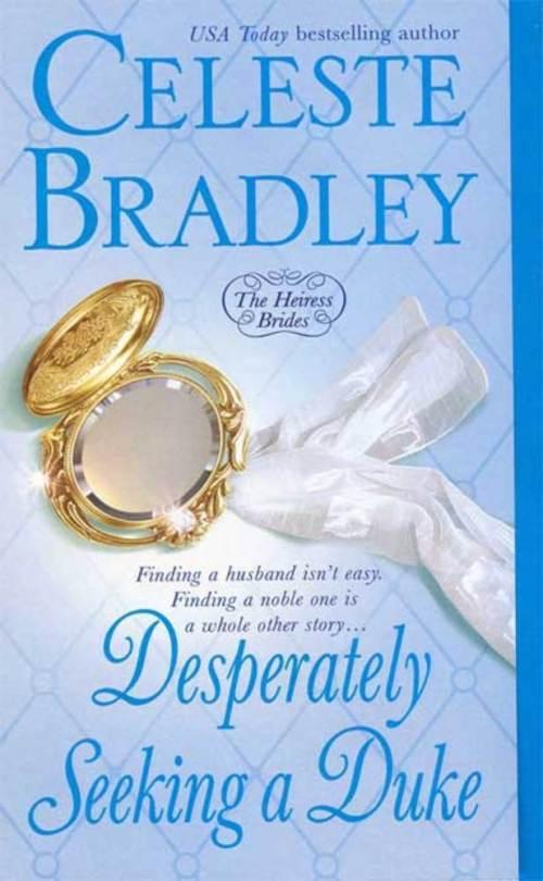 Desperately Seeking a Duke - The Heiress Brides - Book 1 - Cover