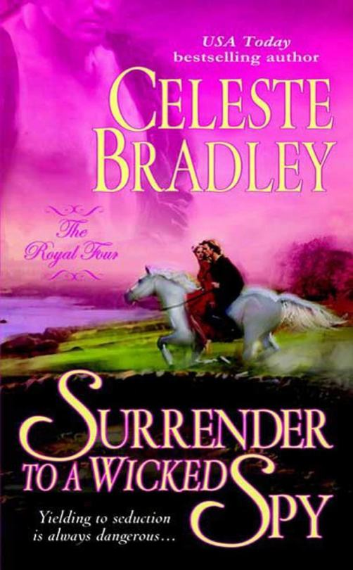 Surrender to a Wicked Spy - The Royal Four - Book 2 - Cover