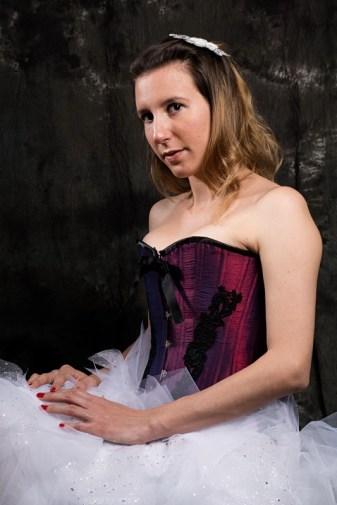 corset victorien dentelle + tutu