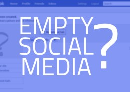 Fix Empty Social Media for your Business