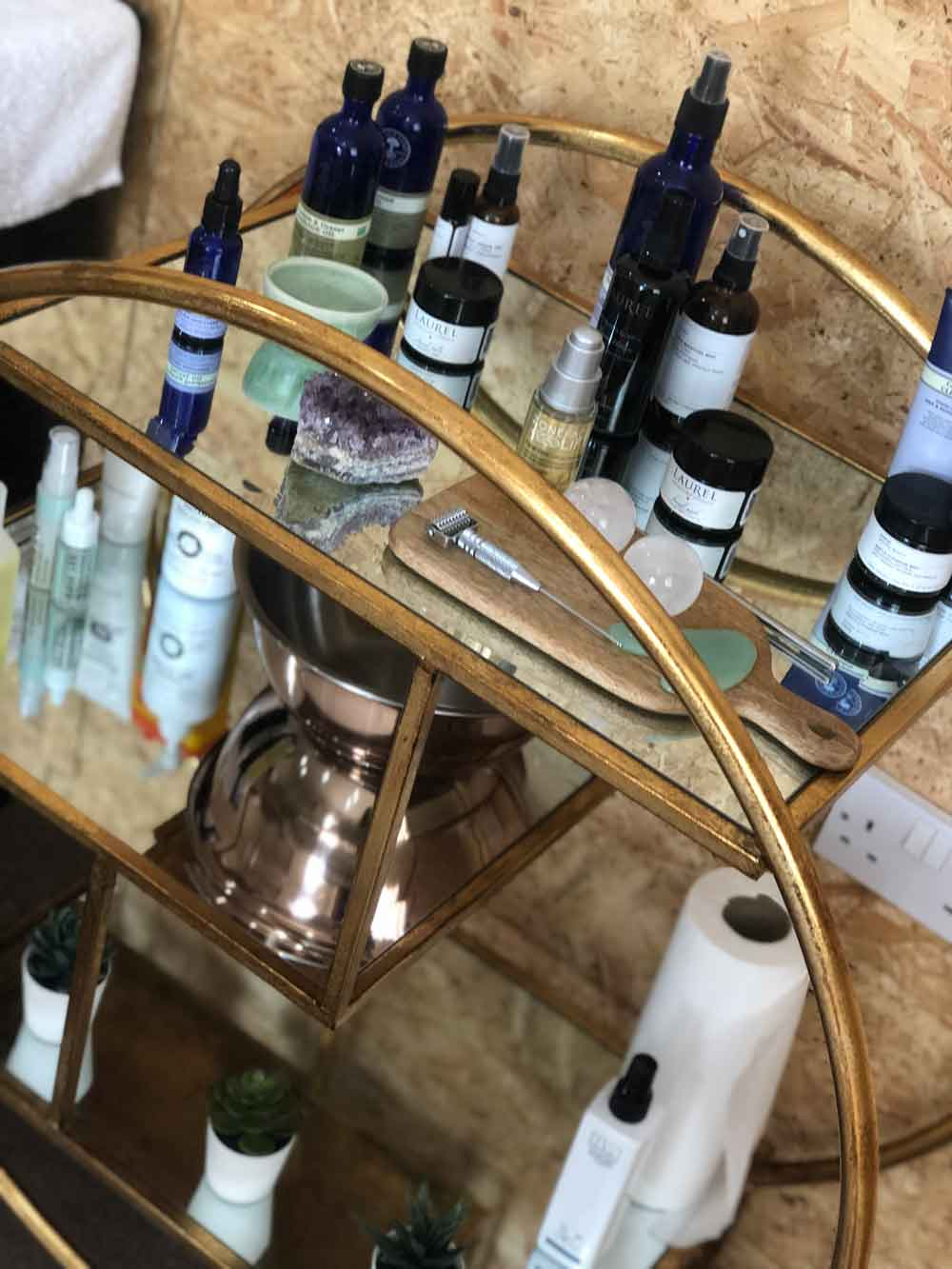 neals yard products zone facelift products and laurel skincare - OUR TREATMENTS