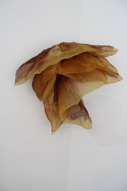 Gold Flourish Sculpture, Linda Celestian