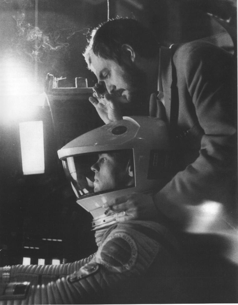 Kubrick dirige 2.001 - Uma Odisseia no Espaço