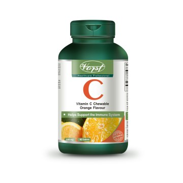 Vitamin C Chewable Orange Flavour