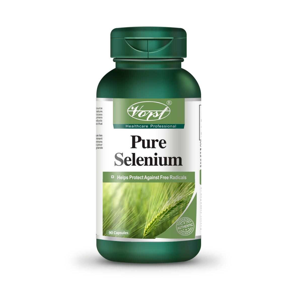 Pure Selenium 90 Capsules 200mcg