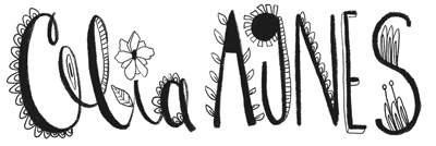 Celia Agnes, Illustrator Logo in B&W