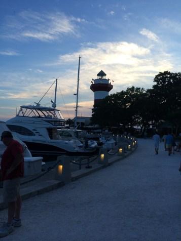 The marina in SC.