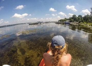 Kayaking on the Lake!
