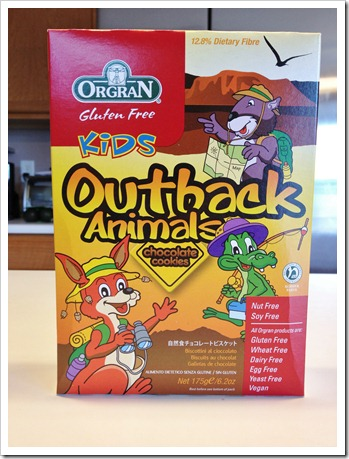 Review: Orgran Outback Animals Chocolate Cookies - Celiac ...