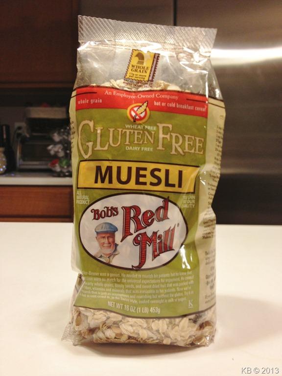 Review: Bob's Red Mill Gluten-Free Muesli - Celiac Disease