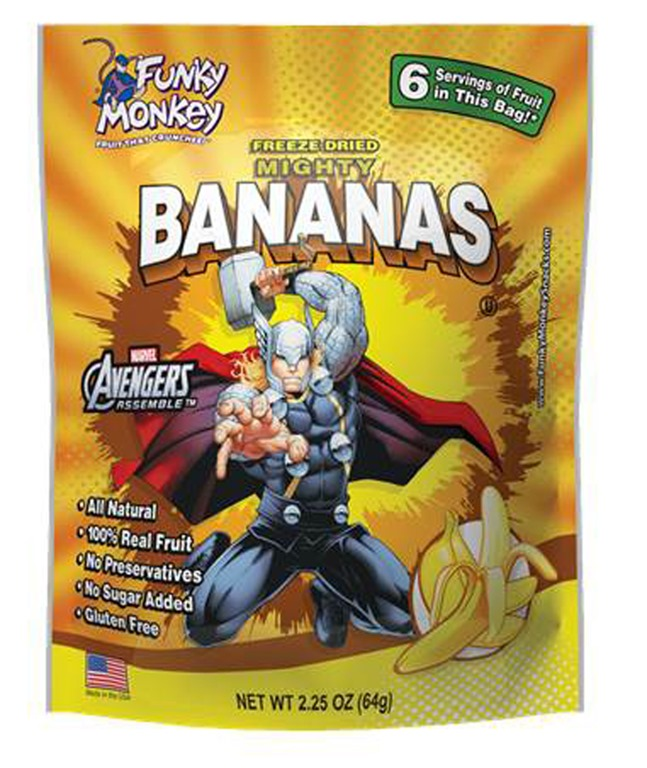 Funky Monkey Snacks Joins Forces with Marvel - Celiac Disease