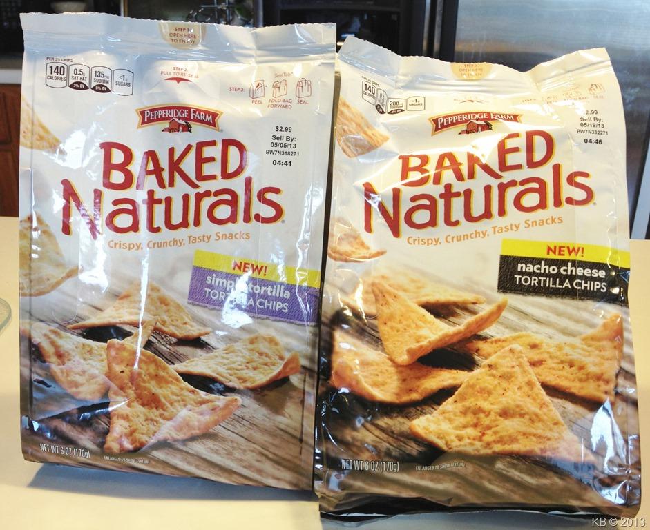 Review: Pepperidge Farm Baked Naturals Tortilla Chips ...