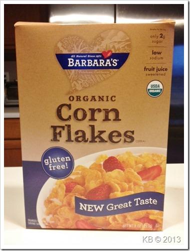 Review: Barbara's Organic Corn Flakes - Celiac Disease
