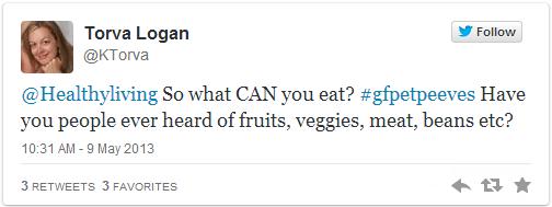 glutenfree tweet