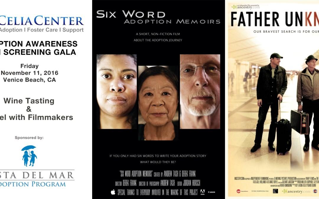 ADOPTION AWARENESS FILM SCREENING GALA