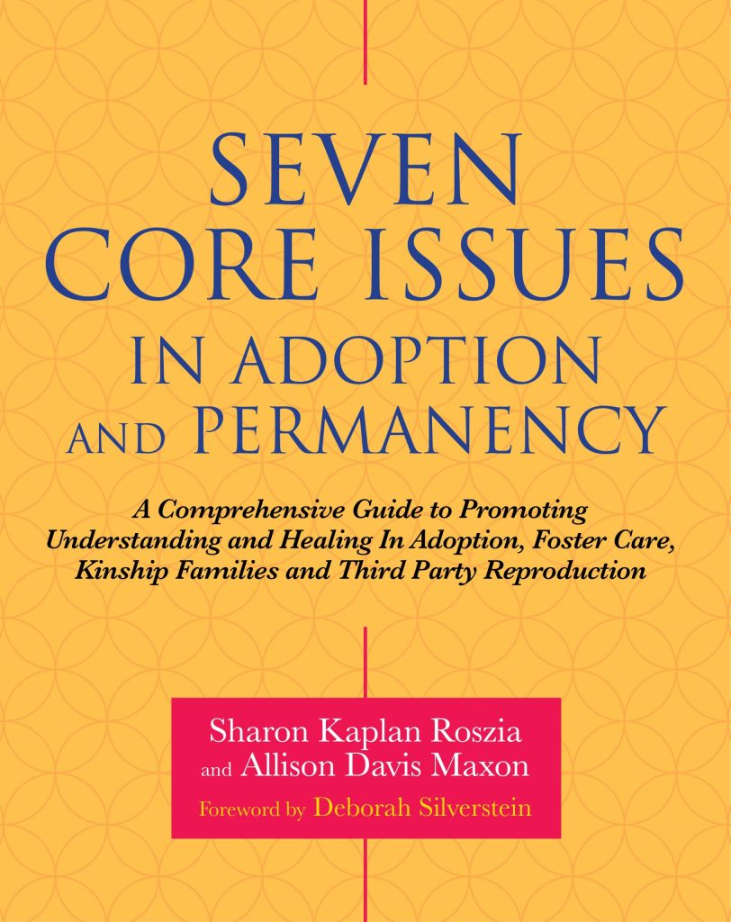 poster Seven Core Issues in Adoption and Permanency
