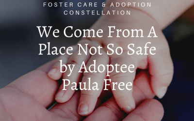 We Come From A Place Not So Safe by Paula Free
