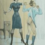 Flagellation à l'ancienne