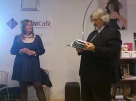 Celia Domínguez junto a Esteban Rodrigo