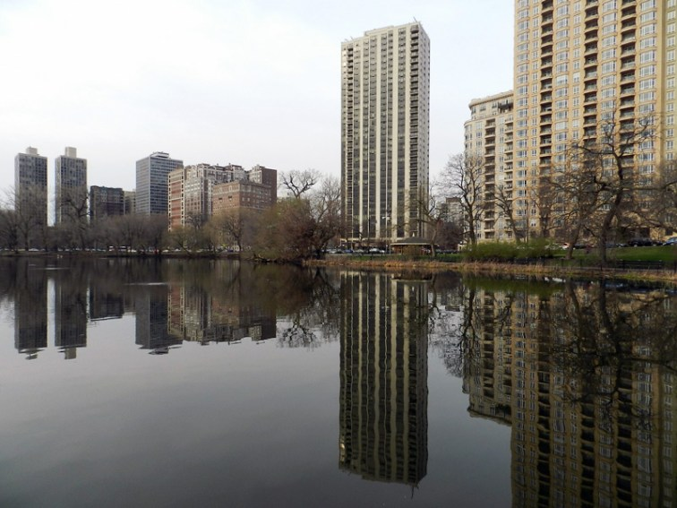 On the pond (North Pond, Chicago), © 2013 Celia Her City