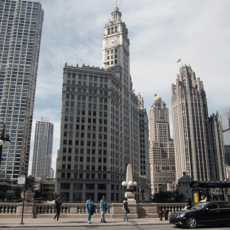 The Wrigley Building at 4:15, © 2013 Celia Her City