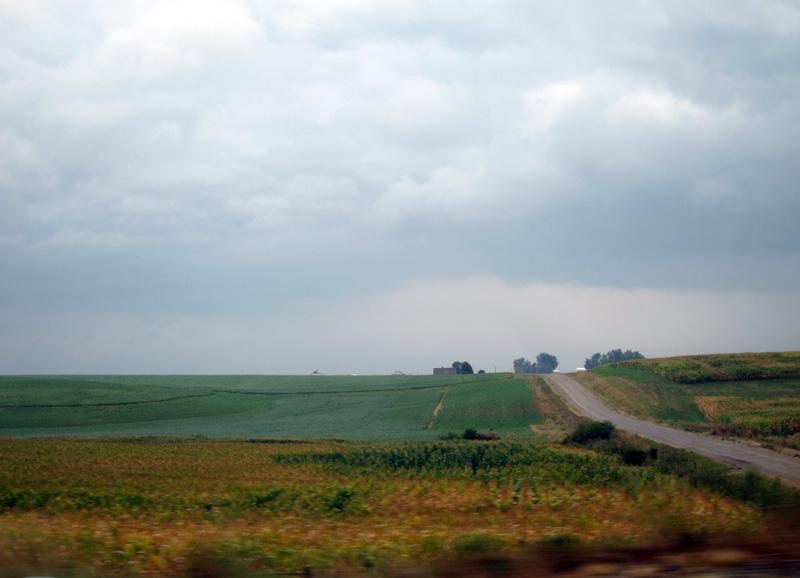 Rain seen (Iowa), © 2013 Celia Her City