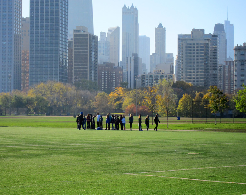 Latin school playing field (Chicago), © 2013 Celia Her City