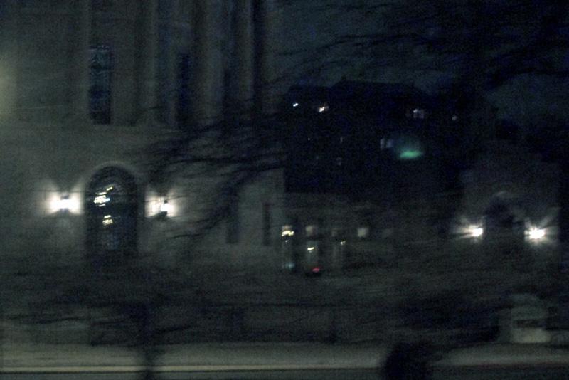 The Elks Memorial at night, Chicago © 2013 Celia Her City