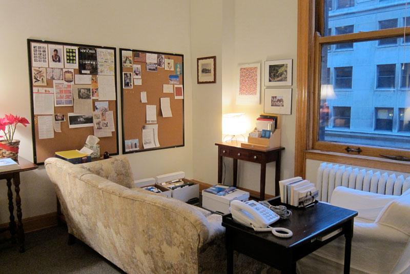 Settled in (office), © 2014 Celia Her City