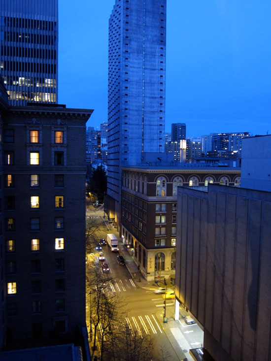 Crowne Plaza Seattle, © 2014 Celia Her City