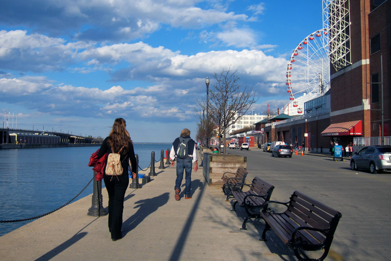 Eastward on the pier, © 2014 Celia Her City