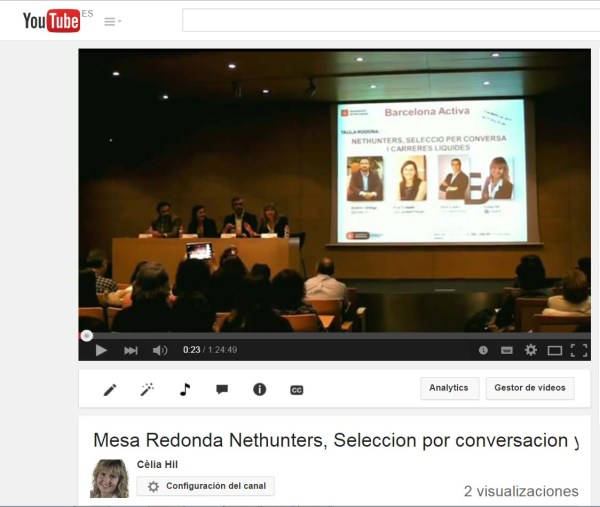 Portada para el post del Video - Mesa Redonda Nethunters