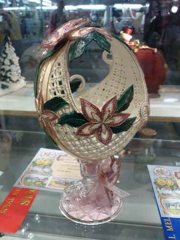 Decorated Egg Shell @ Royal Melbourne Show