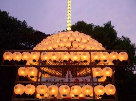 Lanterns @ Atsuta Matsuri, Nagoya
