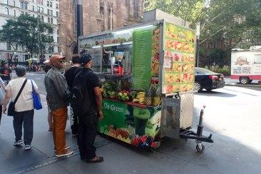 Fruit juice truck
