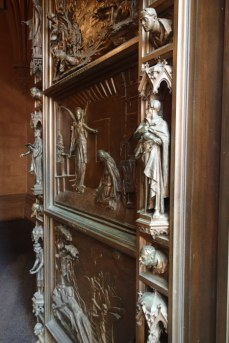 Trinity Church door relief