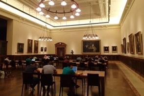 Art gallery a.k.a. Salomon study room!